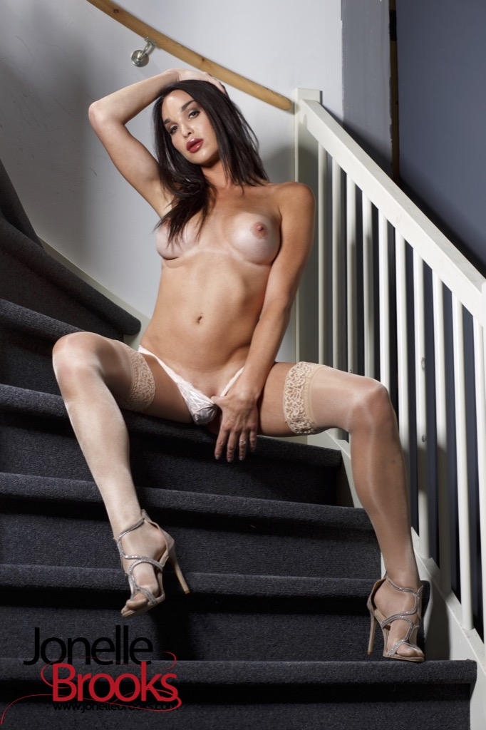 Jonelle Brooks in Horny On The Stairs
